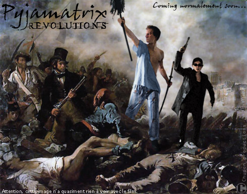 Pyjamatrix Revolutions - L'affiche